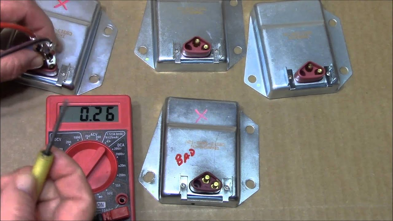 How To Test The C Voltage Regulator Use On Chrysler