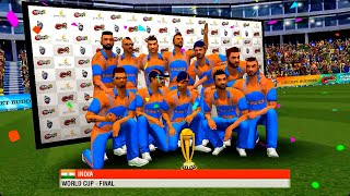 wcc2 update 2019 world cup Final match Gameplay (India VS Australia)