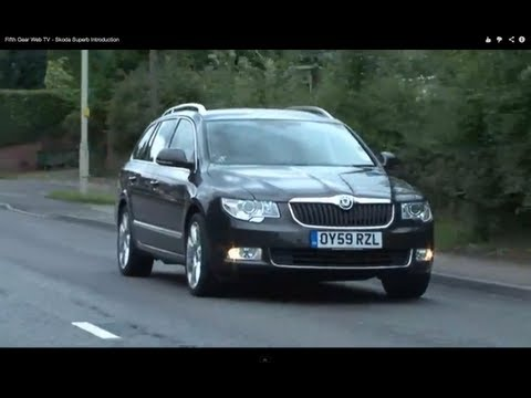 Fifth Gear Web TV - Skoda Superb Introduction
