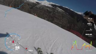 Essai Compteur Ski GoPro Hero5