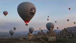 Kuumailmapallolento Kappadokiassa