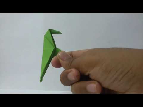Easy Origami Parrot Tutorial