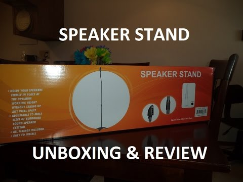 "Speaker Stand Unboxing and Review (""Ableseller"" Ebay Purchase)"