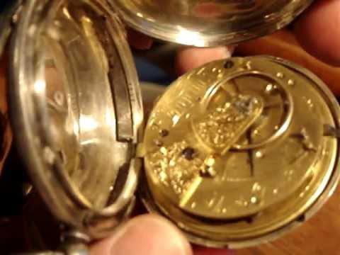 Fusee Pocket Watch, 1856 English Hunter Case