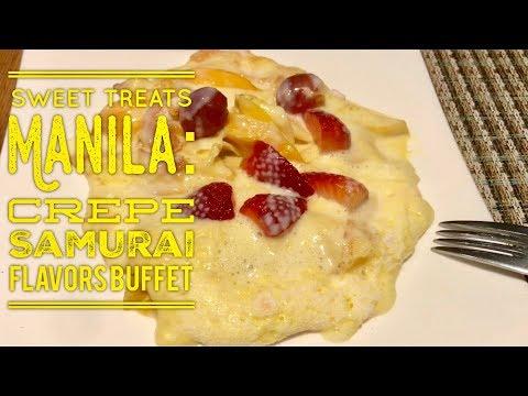 Flavors Dinner Buffet Holiday Inn & Suites Makati Cafe Jeepney Crepe Samurai