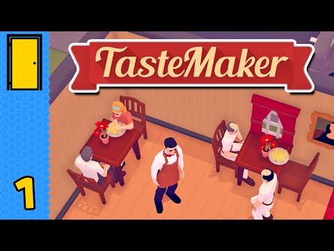 A Taste of Success   TasteMaker - Part 1 (Restaurant Simulator)