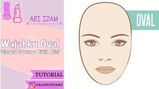 Tutorial Membuat Alis Untuk Wajah Oval Cara Buat Alis Sesuai Bentuk Wajah by ARI IZAM