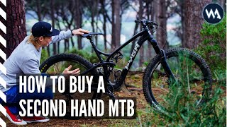HOW TO BUY A SECOND HAND MOUNTAIN BIKE