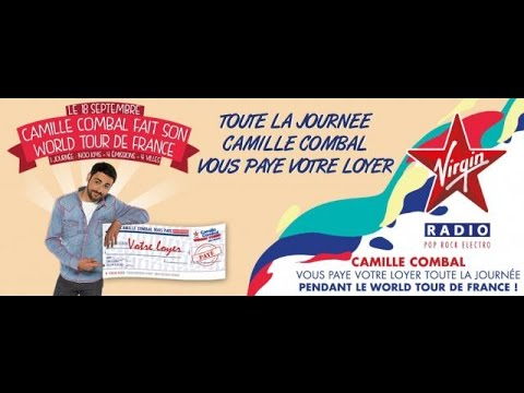Vidéo Camille Combal World Tour de France - Voix Off: Marilyn HERAUD