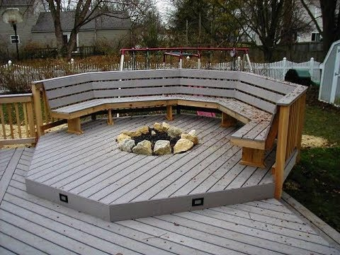 Deck Fire Pit You