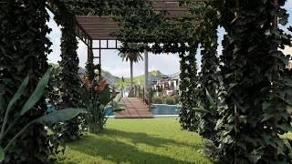 Jardín en complejo residencial - Moratalla