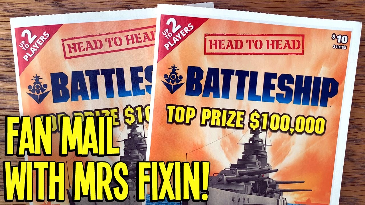 Battleship w/ MRS FIXIN! 😍 FIRST EVER Head-to-Head Lottery Scratch Off Game 🤑 Fixin To Scratch