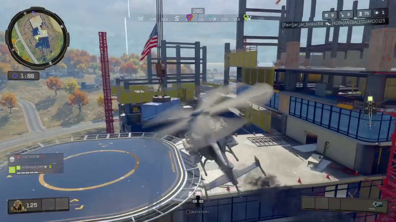 Blackout Helicopter HD