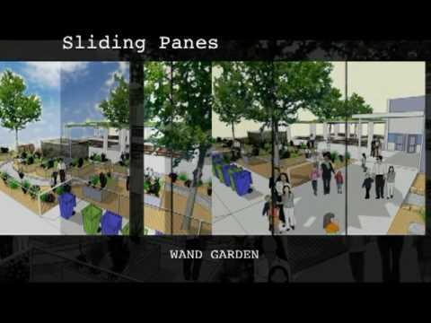 Wand Garden for North Davis Elementary School