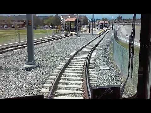 Riding Parts of RTD's R Line in Both Directions