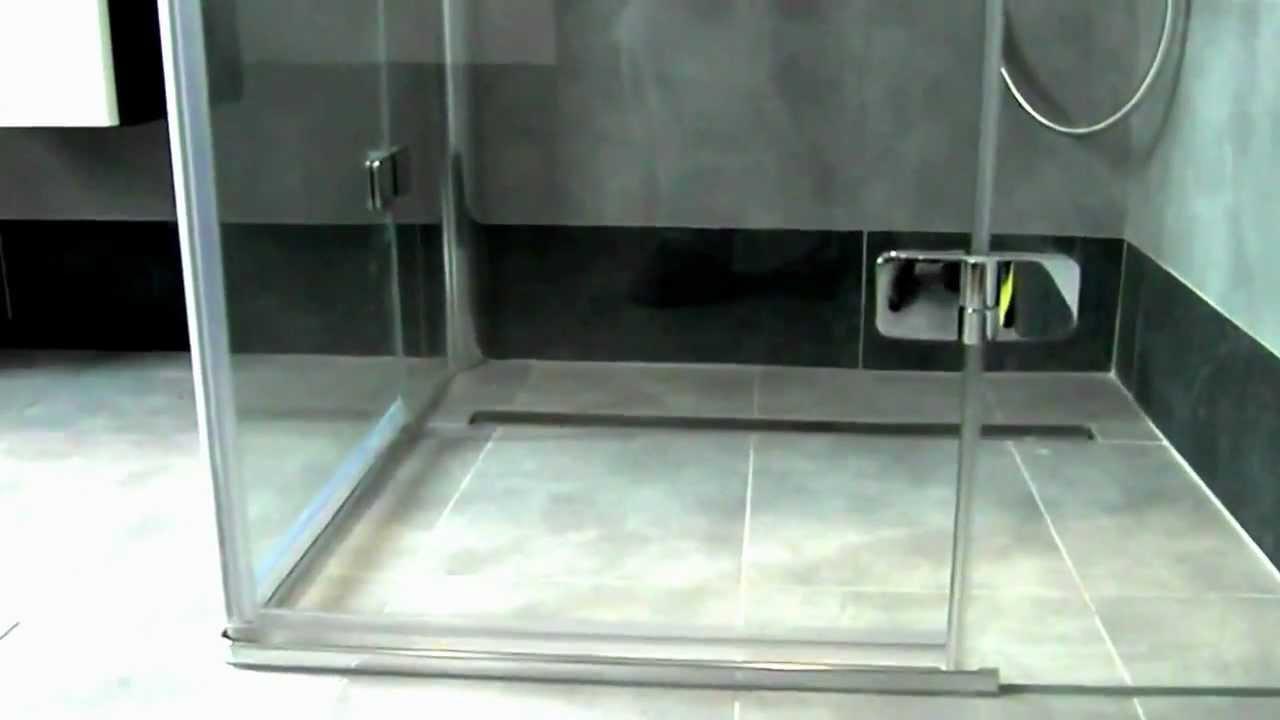 łazienka Z Wanną I Odpływ Liniowy