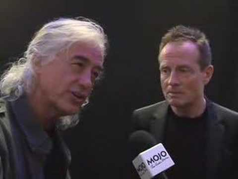 Led Zeppelin - Backstage Interview - MOJO Honours List 2008