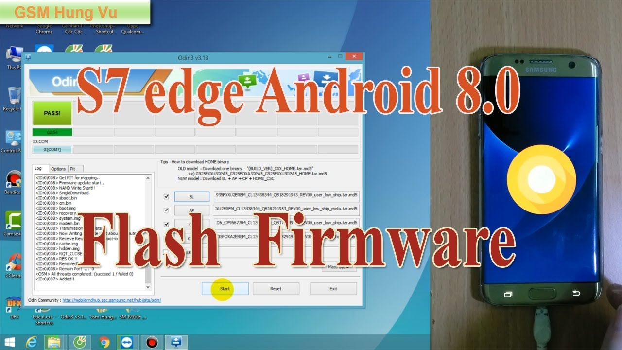 Android 8 Flash 1 Firmware By 0 Edge Ok 13 S7 G935f 3 Odin