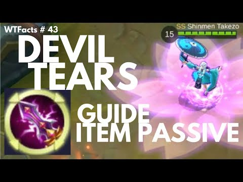 DEVIL TEARS PASSIVE TUTORIAL | WTFacts # 43 | Mobile Legends
