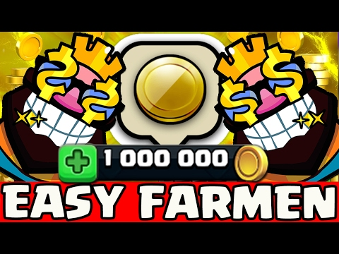 1.000.000 GOLD 💰💰💰 FARMEN MIT DIESEM DECK 😍😍😍 | CLASH ROYALE [Deutsch/German HD+]