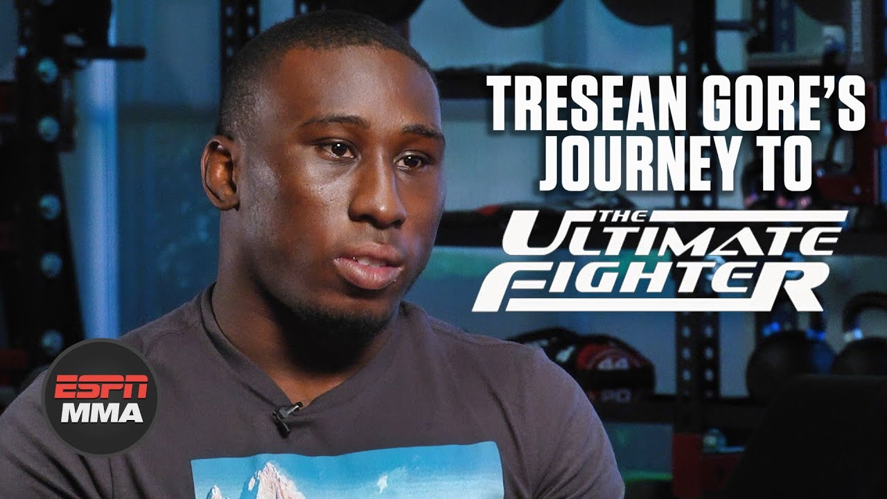 Download Tresean Gore's incredible story of perseverance to reach The Ultimate Fighter | ESPN MMA