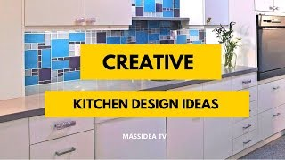45+ Creative Kitchen Design Ideas Inspiration for 2019