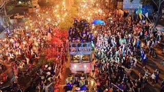 2 000 Polisi Amankan Pawai Kemenangan Persib