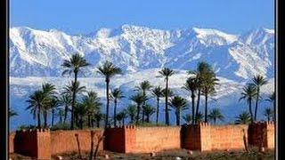 Stunning views of the snow in Morocco مناظر خلابة للثلوج في المغرب