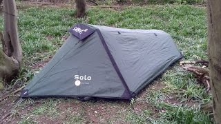 day camp with the gelert solo tent