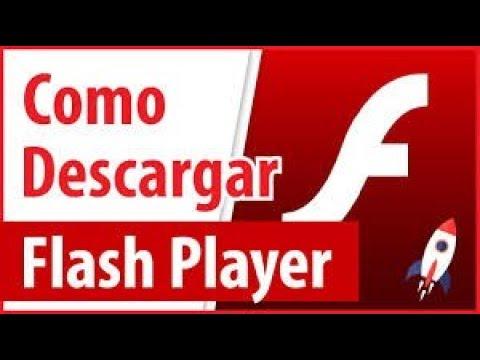 Como descargar Adobe Flash Player PC 2018