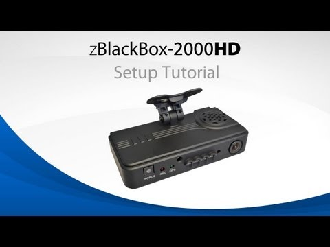 ZBlackBox-2000HD Dual Channel Dash Cam Tutorial Video