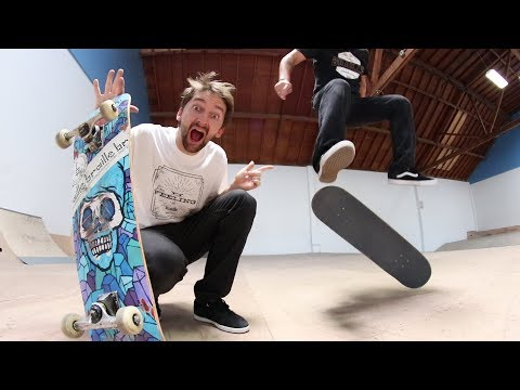 CAN AARON WIN HEELFLIPS ONLY GAME OF SKATE?!