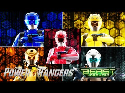 All Ranger Morphs In Power Rangers Beast Morphers Episodes | Hasbro Superheroes Compilation