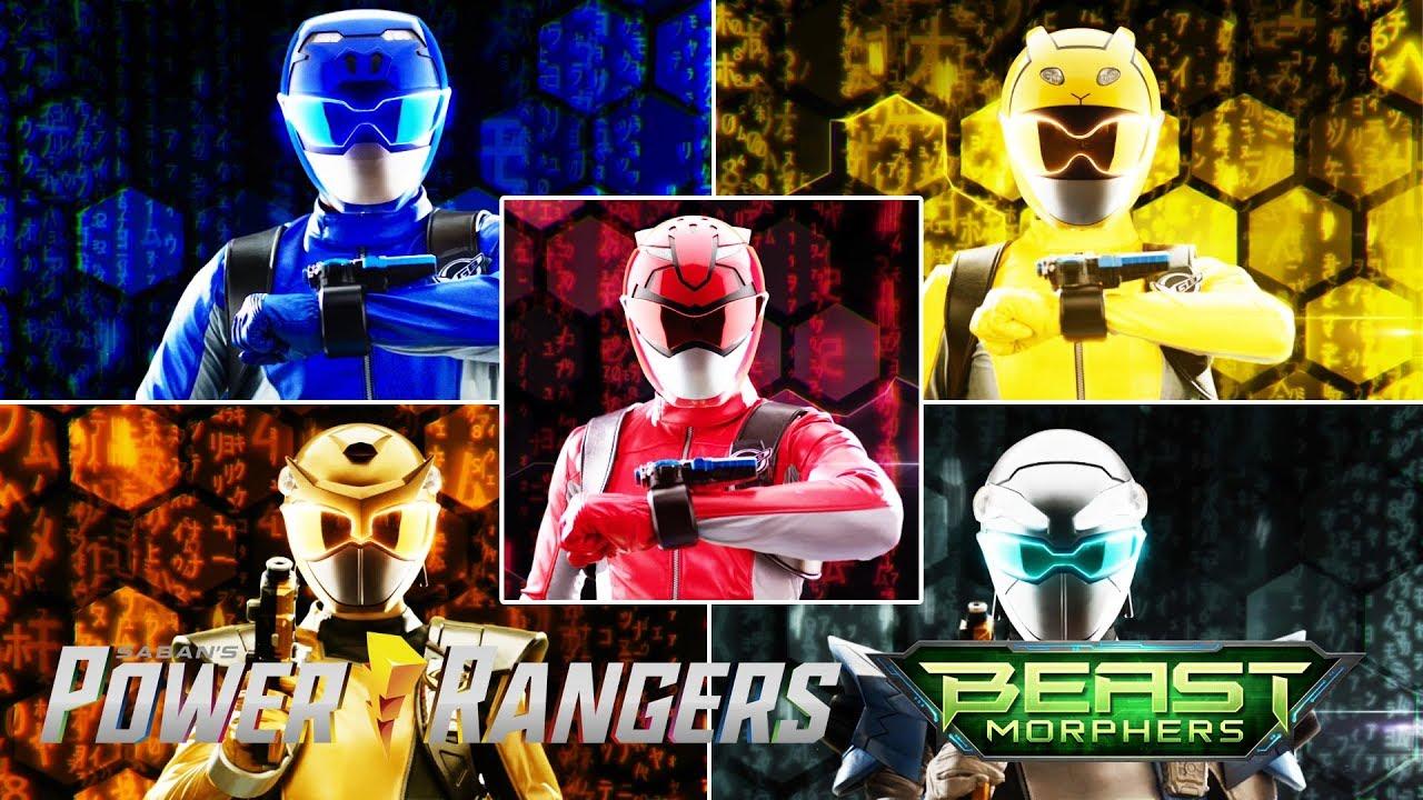 Download All Ranger Morphs in Power Rangers Beast Morphers | Power Rangers Official