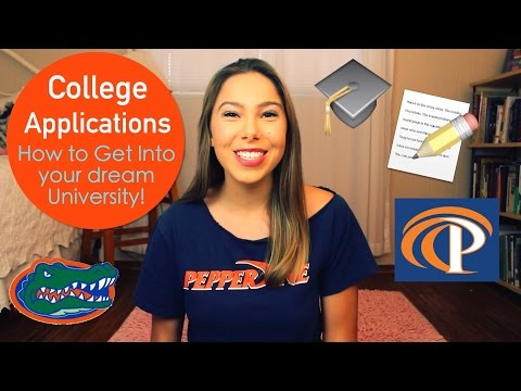 TIPS FOR APPLYING TO COLLEGE! [College Applications Process]
