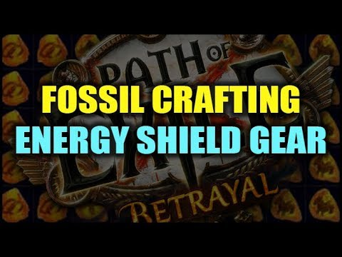 Path of Exile Betrayal: Crafting Nutty Energy Shield Gear with Fossils