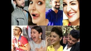 Virat Become hyper when anchor ask About Virat and Anushka scandal !!!!