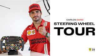 Formula 1 Steering Wheel Tour with Carlos Sainz