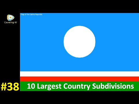 10 Largest Country Subdivisions