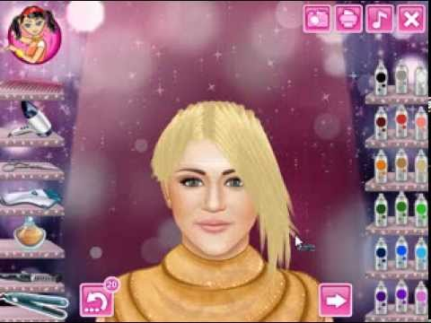 New Haircut Online Game for Girls 2013 - YouTube