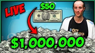 I asked and you answered loud clear. the bankroll challenge is accepted we are shooting for stars: $1,000,000! to make it even better, will...
