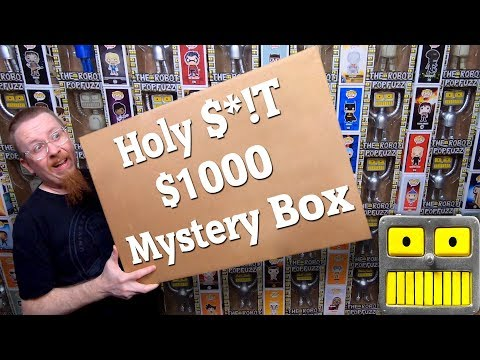 Holy $T That Was An Awesome $1000 Funko Pop Mystery Box