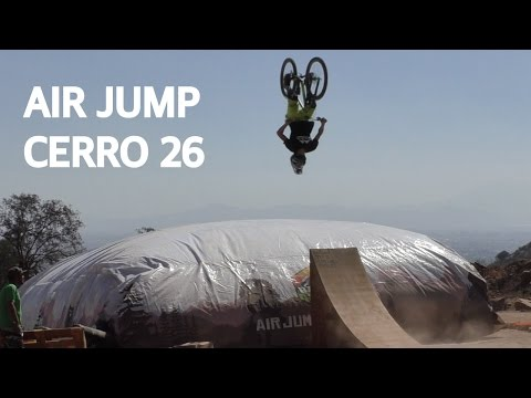 Air jump en el cerro 26