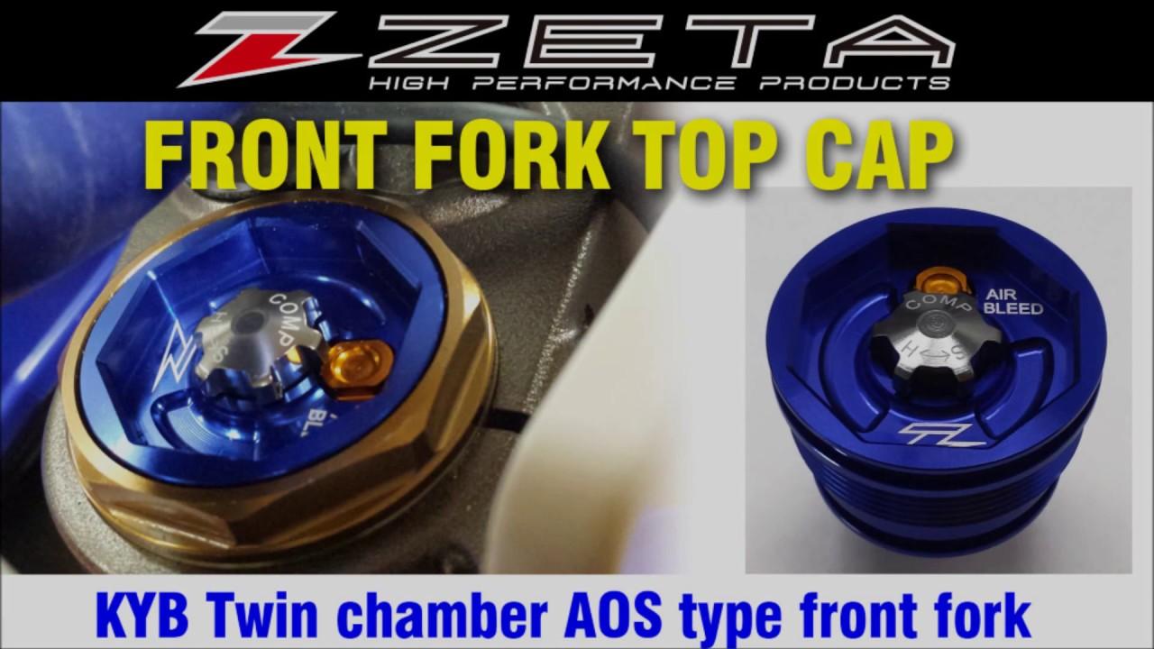 Zeta Front Fork Top Cap Youtube