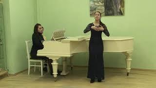 Пригарина Вероника академический вокал соло категория 14-17 лет 2 тур