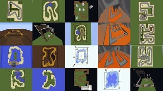 Super Mario Kart in Minecraft [All Tracks]