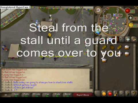 99 Thieving Trick Stealing From Stalls Without Getting Caught By