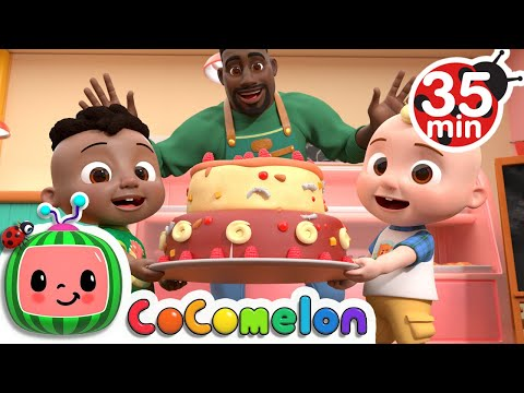 Cody's Father And Son Day Song + More Nursery Rhymes & Kids Songs - CoComelon