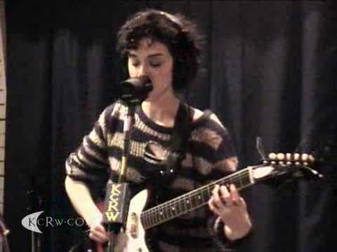 "St. Vincent performing ""The_Strangers"" on KCRW"