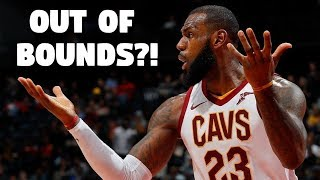 "NBA ""OUT OF BOUNDS"" Shots"